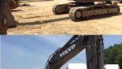Backhoe/ Dump truck/ Hyundai/ Volvo Equipment/ Pump Crete/ Mixer