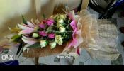 Roses bouquet fresh flowers delivery in the fort taguig