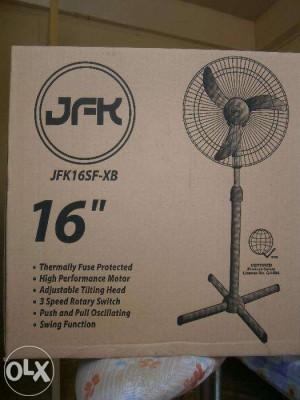 JFK Original Brand New Electric Fan