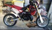 Honda CRM250 motard + new piston kit