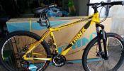 mountain bike trinx m136 alloy frame an parts shimano brandnew
