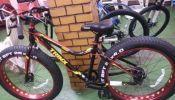 fat bike, alloy fat bike trinx, giant shimano, road bike,disc brake,